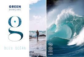green bleu ocean